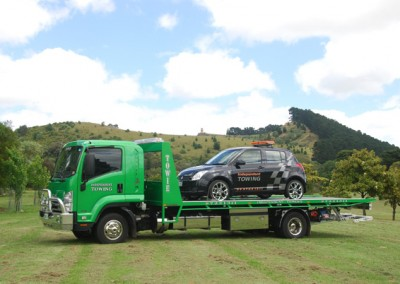 Mt Gambier towing with the Independent towing traffic accident command